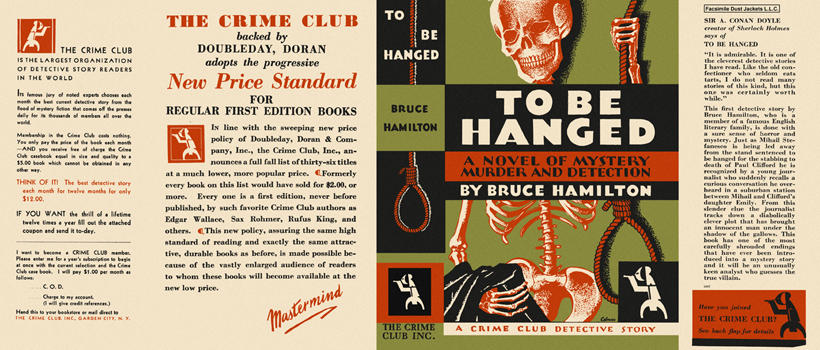 To Be Hanged. Bruce Hamilton.