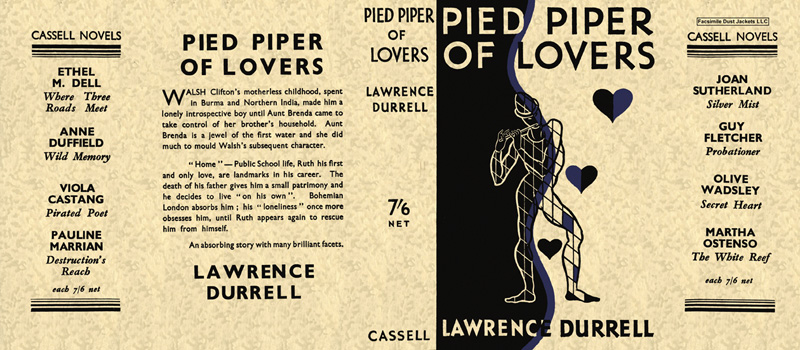 Pied Piper of Lovers. Lawrence Durrell