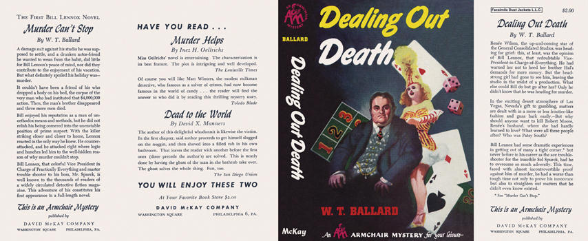 Dealing Out Death. W. T. Ballard.