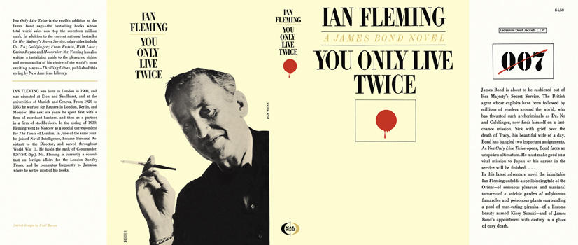 You Only Live Twice. Ian Fleming.