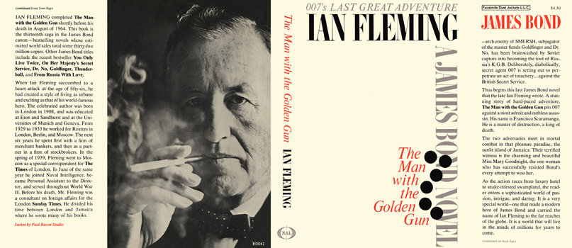 Man with the Golden Gun, The. Ian Fleming.