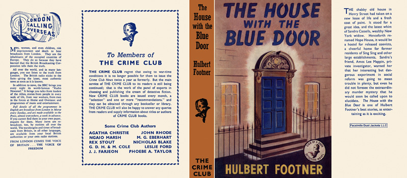 House with the Blue Door, The. Hulbert Footner