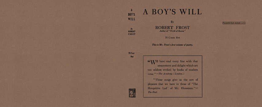 Boy's Will, A. Robert Frost
