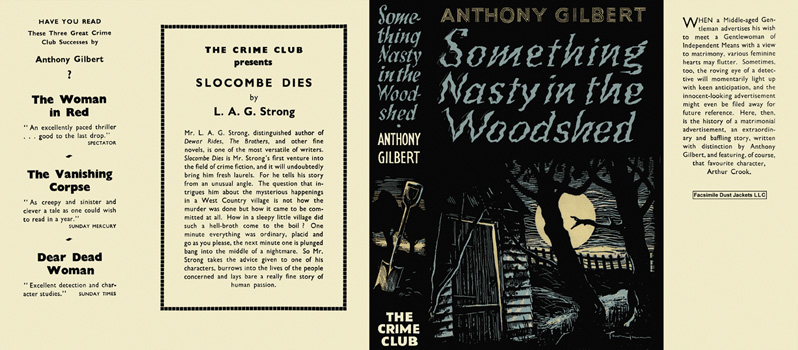 Something Nasty in the Woodshed. Anthony Gilbert.