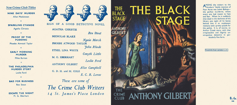 Black Stage, The. Anthony Gilbert