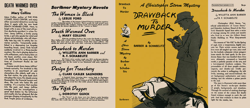 Drawback to Murder. Willetta Ann Barber, R. F. Schabelitz.