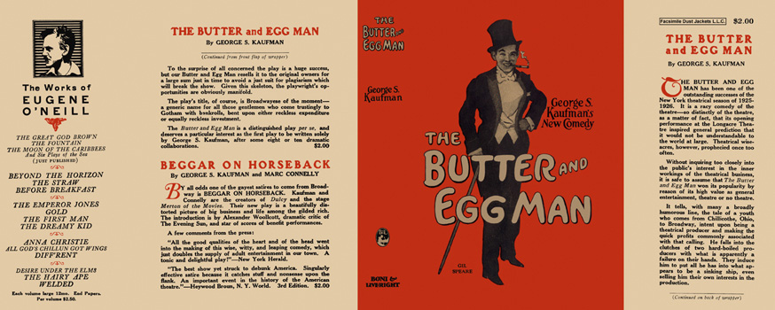 Butter and Egg Man, The. George S. Kaufman.