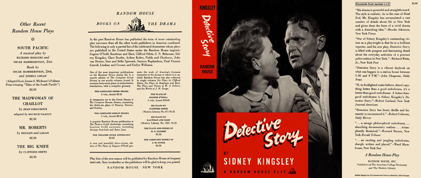Detective Story. Sidney Kingsley