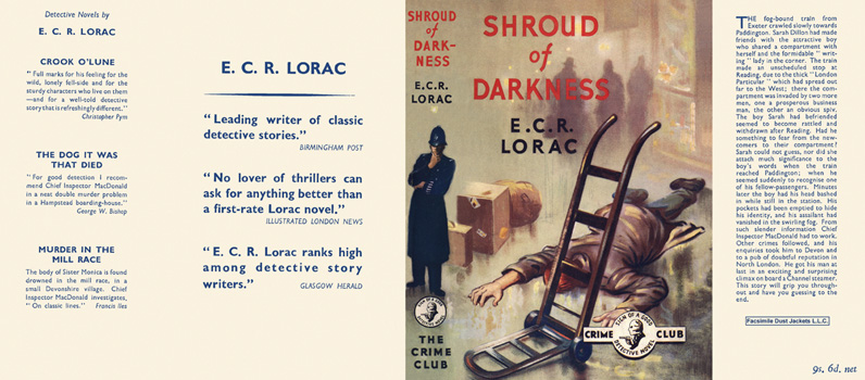 Shroud of Darkness. E. C. R. Lorac