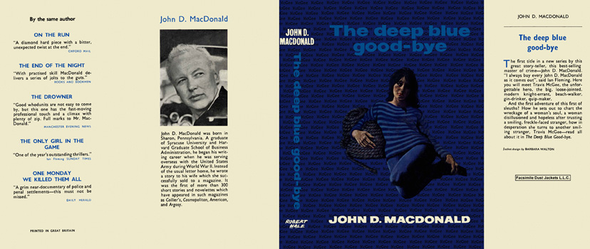 Deep Blue Good-Bye, The. John D. MacDonald.