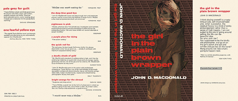 Girl in the Plain Brown Wrapper, The. John D. MacDonald.