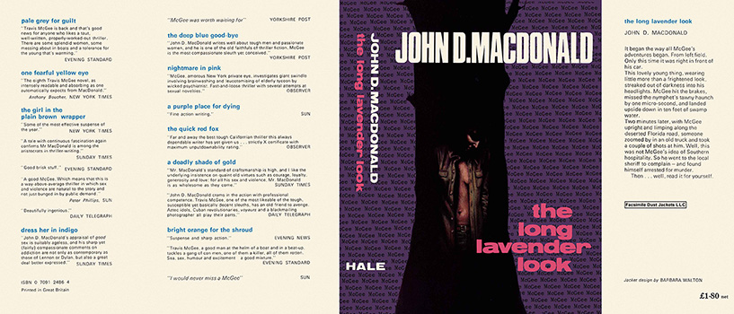 Long Lavender Look, The. John D. MacDonald.