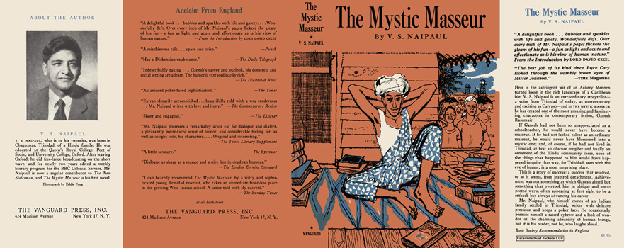 Mystic Masseur, The. V. S. Naipaul