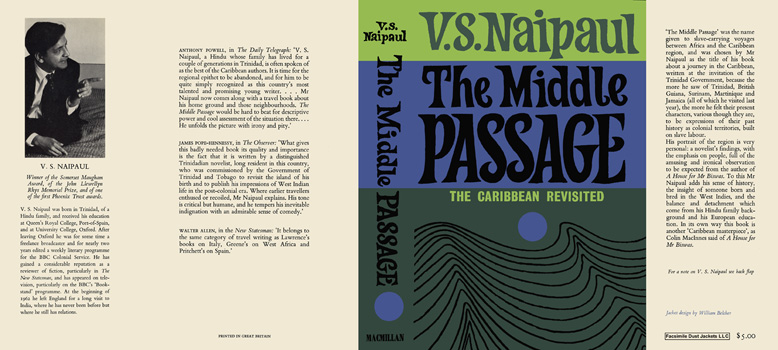Middle Passage, The. V. S. Naipaul.