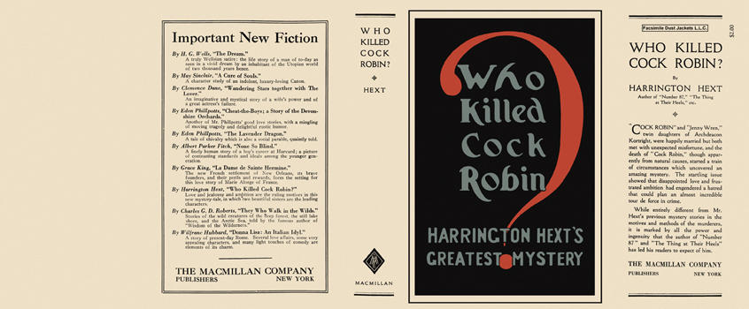 Who Killed Cock Robin? Harrington Hext.