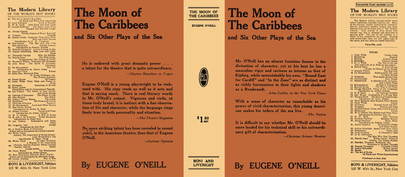 Moon of the Caribbees and Six Other Plays of the Sea, The. Eugene O'Neill