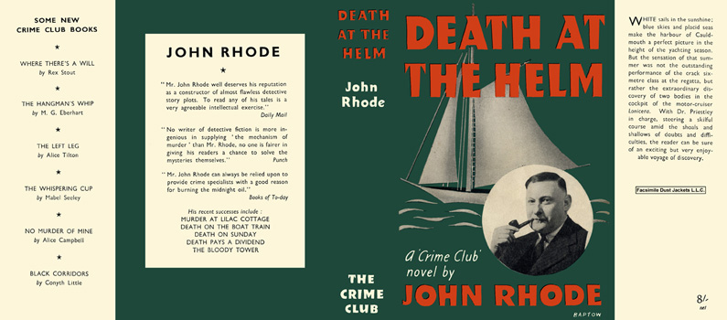 Death at the Helm. John Rhode