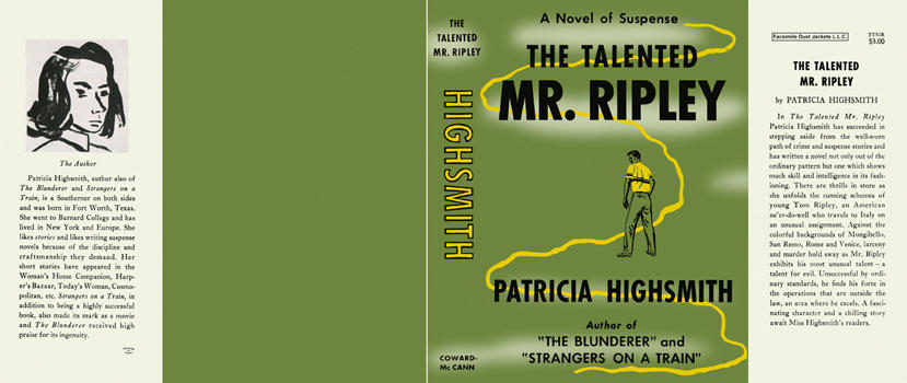 Talented Mr. Ripley, The. Patricia Highsmith