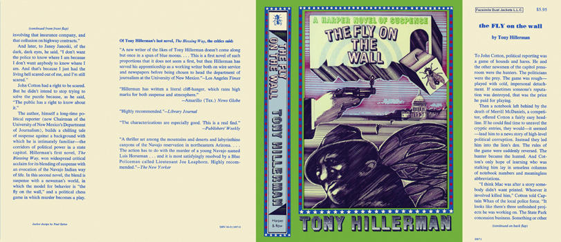 Fly on the Wall, The. Tony Hillerman.