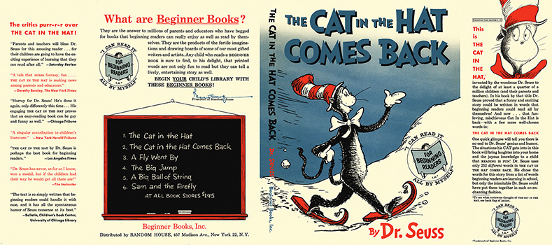 Cat in the Hat Comes Back, The. Seuss Dr.