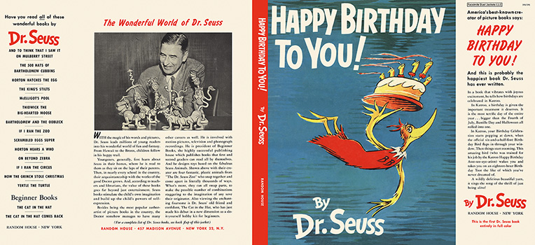Happy Birthday to You! Seuss Dr