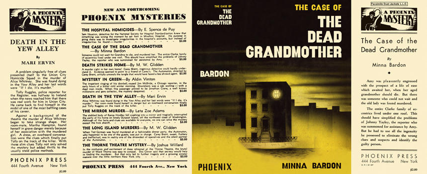 Case of the Dead Grandmother, The. Minna Bardon.