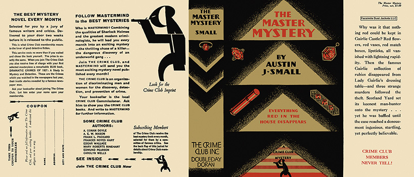 Master Mystery, The. Austin J. Small.