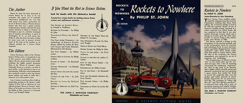Rockets to Nowhere. Philip St. John.