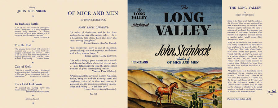 Long Valley, The. John Steinbeck