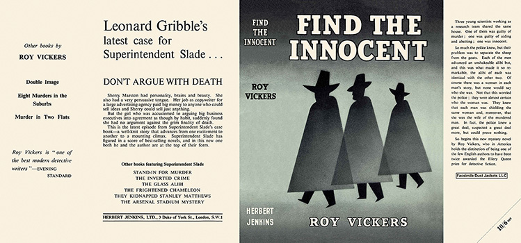 Find the Innocent. Roy Vickers.