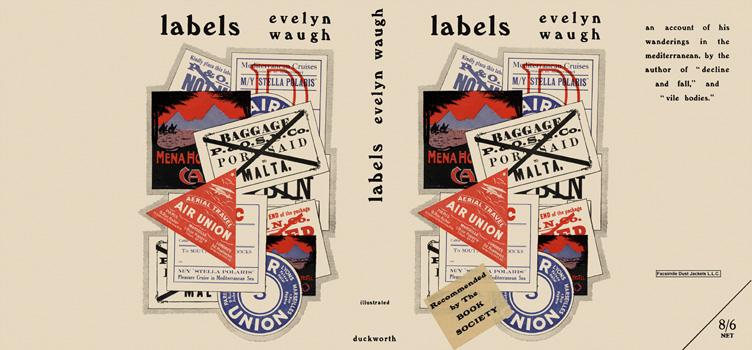 Labels. Evelyn Waugh
