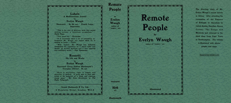 Remote People. Evelyn Waugh.