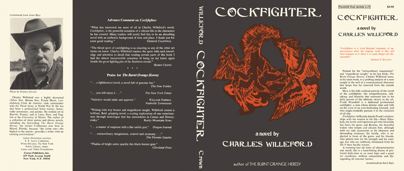 Cockfighter. Charles Willeford.