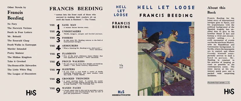 Hell Let Loose. Francis Beeding.