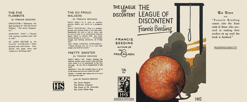 League of Discontent, The. Francis Beeding