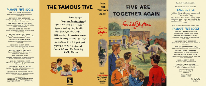 Five Are Together Again. Enid Blyton, Eileen Soper.