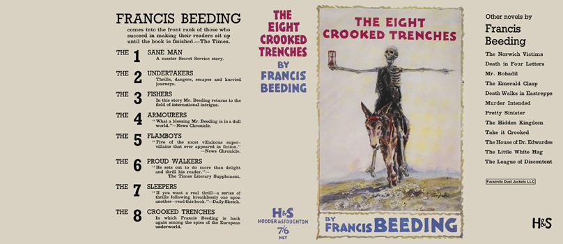 Eight Crooked Trenches, The. Francis Beeding.