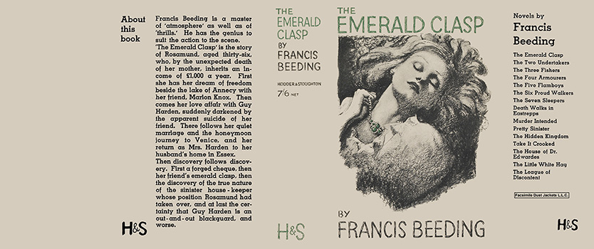 Emerald Clasp, The. Francis Beeding
