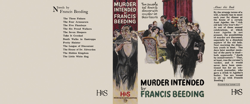 Murder Intended. Francis Beeding
