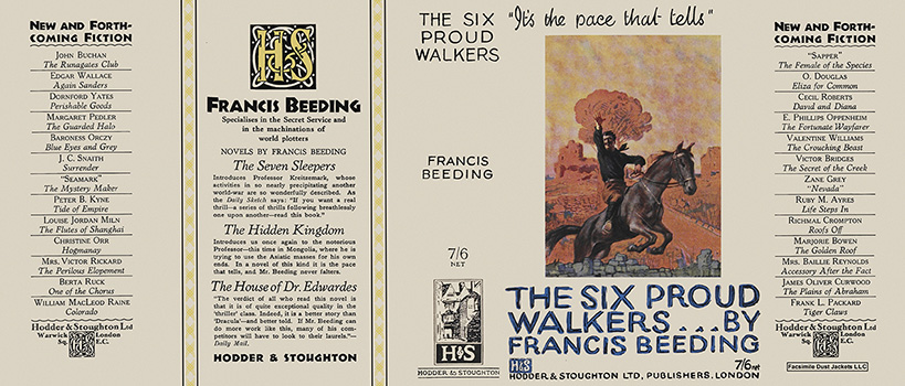 Six Proud Walkers, The. Francis Beeding.