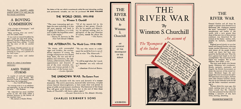 River War, The. Winston S. Churchill.