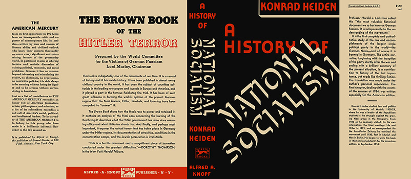 History of National Socialism, A. Konrad Heiden.