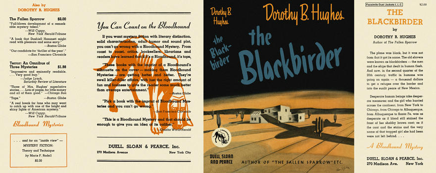 Blackbirder, The. Dorothy B. Hughes.