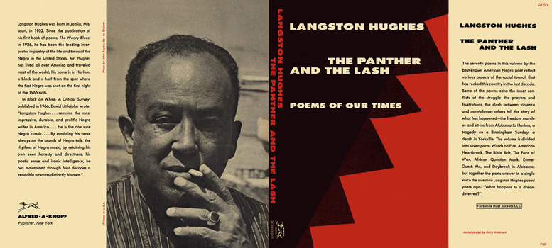 Panther and The Lash, The. Langston Hughes.