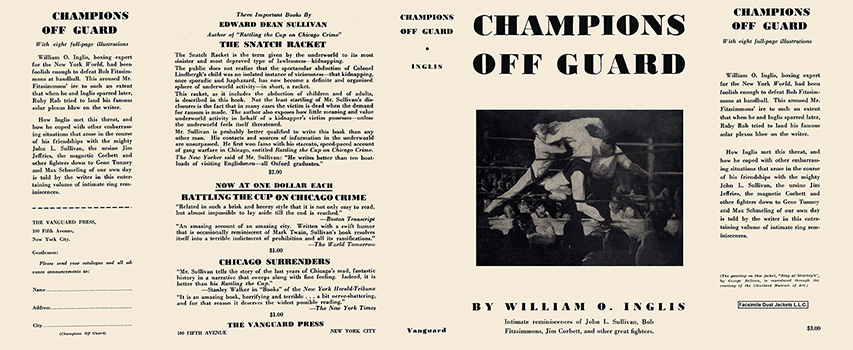 Champions Off Guard. William O. Inglis