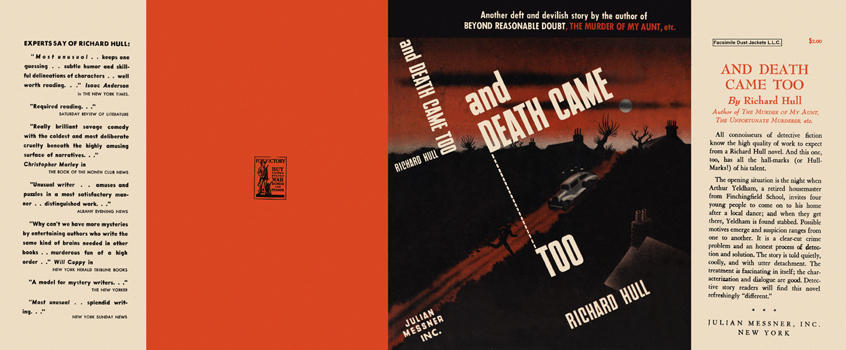 And Death Came Too. Richard Hull.