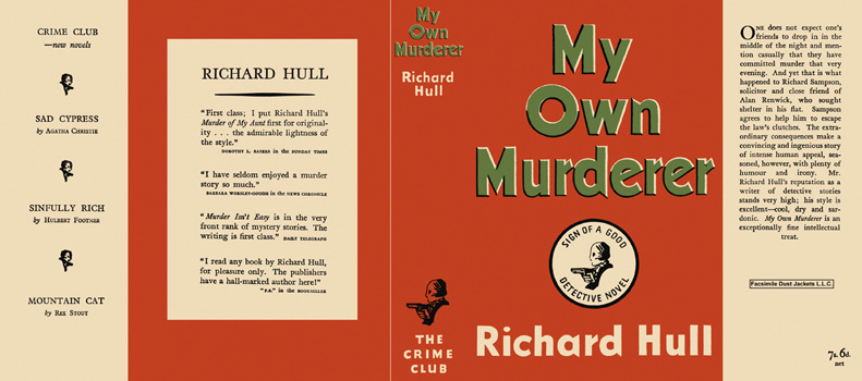My Own Murderer. Richard Hull.