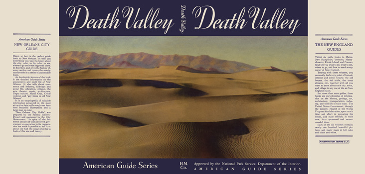 Death Valley. American Guide Series, WPA.
