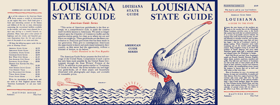 Louisiana, A Guide to the State. American Guide Series, WPA.