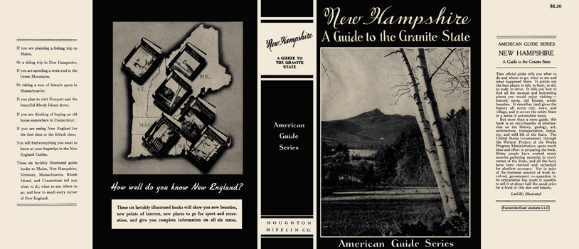 New Hampshire, A Guide to the Granite State. American Guide Series, WPA
